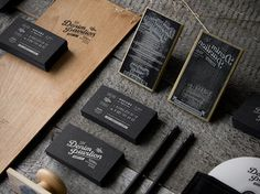 Denim Pavilion on the Behance Network #stamp #branding #craft #stationery #logo #typography