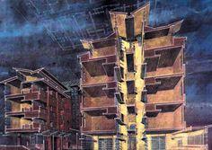 Representation | Paul Lukez Architecture #section #drawings #architecture #representation