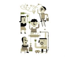 Illustrations on the Behance Network #magazines #icons #geometric #simple #graphics