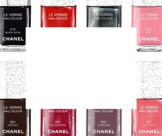 COLOUR FLASH Classic to trendsetting. Bold to demure. Find your ideal shade of LE VERNIS. #nail #chanel #polish #gif