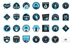 Vulture_full_set #illustration #badge