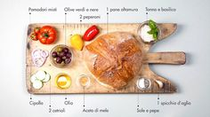 panzanella_ingredienti #ingredients #italian #recipe #food