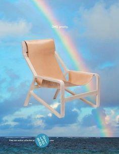 Paula Maki Biondich for Blu Dot | Allan Peters' Blog #furniture #omg #advertising