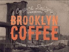 Brooklyn Coffee by Cruzine Design