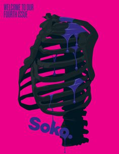 Soko 3 #design #graphic #illustration #magazine #typography