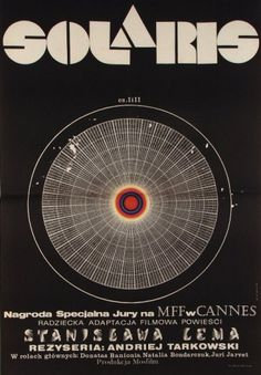 Solaris, Polish Movie Poster: Polish Posters Shop #movie #design #graphic #poster