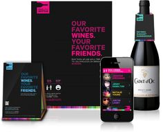 Pass The Bottle - jolahyjek #bright #layout #colors #branding