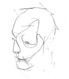 HeadSketch1 by ~AUTR3 on deviantART #head #illustration #study #drawing #sketch