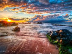 hawaii the sun goes down - Landscape Photography by Ali Ertürk #hawaii #ertrk #ali #landscape