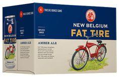 New Belgium Fat Tire #packaging #beer