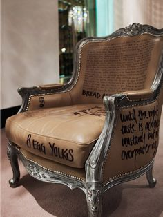 desire to inspire desiretoinspire.net #graffiti #furniture