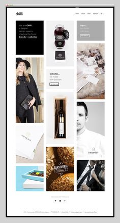 Websites We Love — Showcasing The Best in Web Design #site #design #website #fashion #layout #web