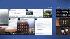 Facebook on Windows 8 on Behance #windows8
