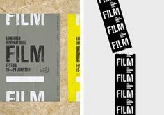 Onestep Creative - The Blog of Josh McDonald » Edinburgh International Film Festival #design #identity #festival #film