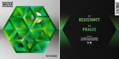 Muse 'Resistance' #print #design #laboca