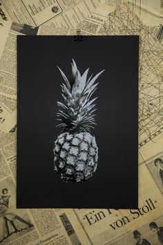 Pineapple Edition 7 Screen Print