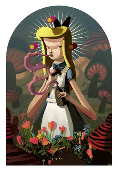 Alejandro sordi illustration #illustration #fantasy #girl