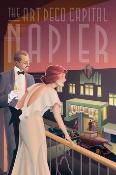 Art Deco Glamour on Illustration Served #illustration #art #deco