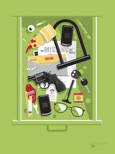 Matt Stevens illustration #drawer #illustration #junk