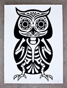 OWL_REGULAR_EDITION.jpg (JPEG Image, 768x1000 pixels) #owl #ernesto yerena