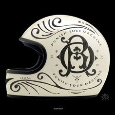 Helmets private collection on Behance #helmet #lettering