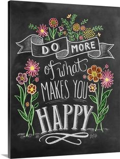 Inspiring quote and handlettering