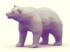 Low Poly [Animal Kingdom] on Behance #low #poly