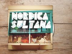 Nordica Sultana #design #graphic #quality