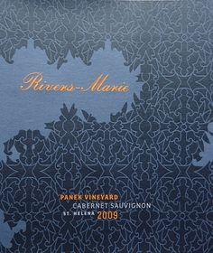 Wine label pattern | Marian Bantjes