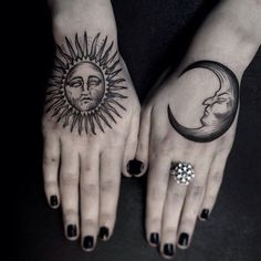 50 Examples of Moon Tattoos
