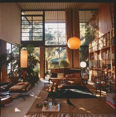 Charles and Ray Eames House #architecture #house