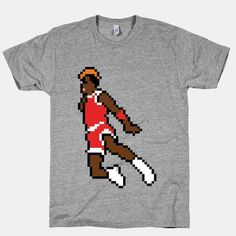 Hoops There It Is | HUMAN | T Shirts, Tanks, Sweatshirts and Hoodies #jordan #tshirt #8bit