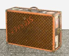 Louis Vuitton wardrobe trunks around 1930/1940