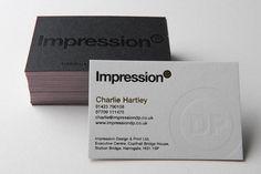 Impression business cards - CardFaves