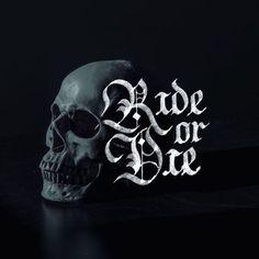 💀Ride or Die 💀 - 📷by @matmacq / @unsplash - #handmadefont #goodtype #typegang #thedailytype #rideordie #calligraphy #calligraphypra