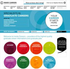 Inside Careers Website by Ascend Studio