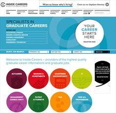 Inside Careers Website by Ascend Studio