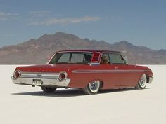 1962 Galaxie Mild Custom low on the Salt #cars