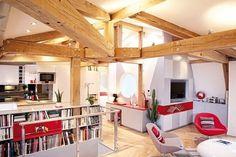 Surprising Apartment Design in Paris: Le Loft des Innocents
