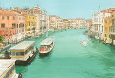 "Louis Vuitton ""Venice"" by Jirô Taniguchi #art"