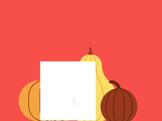 Happy Thanksgiving Y'all holidays graphic illustration vector turkey pumpkin thanksgiving
