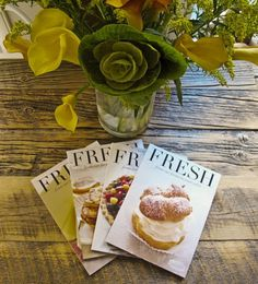 fresh magazine covers #fresh #food #editorial #magazine