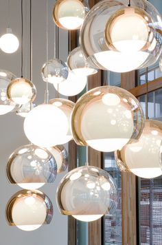 Likes | Tumblr #design #lights #glass #product #furniture #reflection #lighting