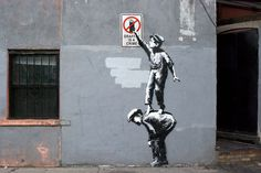 CJWHO ™ (The street is in play by Banksy For the next...)