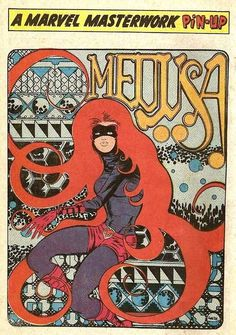 tumblr_koxz5xcsK91qz6f9yo1_500.jpg (JPEG Image, 492×700 pixels) #medusa #comics #marvel