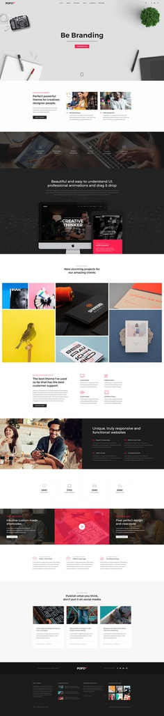Pofo - #Creative #Portfolio and #Blog #WordPress Theme for #Web #Agency by #ThemeZaa
