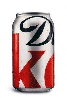 Diet Coke #packaging #coke #can #typography