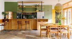 65 Adorable Mid Century Modern Kitchen Ideas