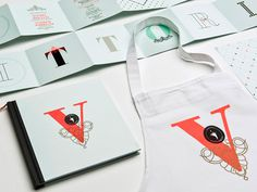 La Vittoria #apron #book #typography