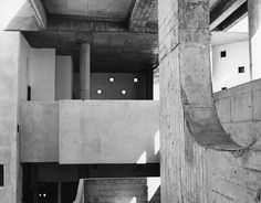 1: High Court, Chandigarh, 1955 | A Stunning Survey Of Pics By Le Corbusier's Trusted Photographer | Co.Design: business + innovation + des #le #architecture #corbusier